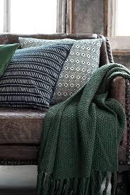 Forest Green Throw Blanket