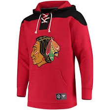– Breakaway Chicago Red Branded Fanatics Blackhawks black Up Hoodie Lace