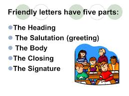 Writing Friendly Letters A Write On Activity Friendly