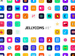 best app icons jellycons 2 100 ios 8 app icons by ben bate dribbble dribbble