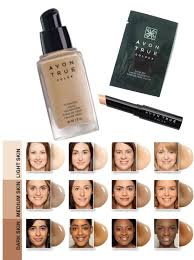 Avon Foundation Colour Chart Avon True Luminous Moisturising Makeup Base Saubhaya Makeup