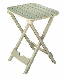 quik fold tag along side table