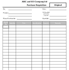 Purchase Order Form Template purchase requisition format excel Socbizco 92