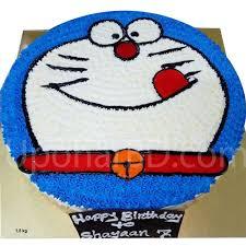 Order Cartoon Character Cake Online Doraemon Birthday Cake For