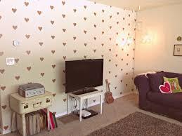 Peel And Stick Wall Decor Whimsy Love Diy Peel Stick Heart Wall Decor