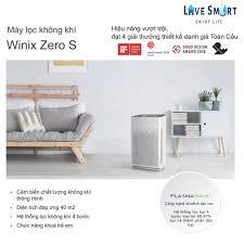Đánh giá máy lọc không khí Winix Zero S