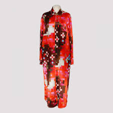 Marni Dress Size Chart Multicolor Printed Satin Dress