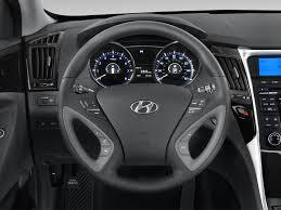 hyundai sonata 2013 interior. 2013 hyundai sonata gls sedan steering wheel interior d