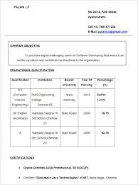 mca fresher resume format free simple fresher resume objective doc fresher resume format for mca