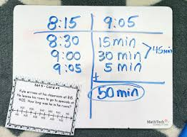 T Chart For Teaching Elapsed Time Elapsed Time Strategies Activities Online Resources