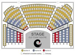 Old Globe Seating Chart Seating Chart Cygnet Theatre