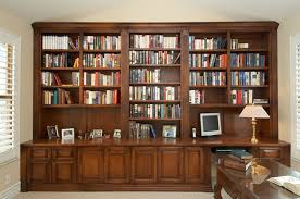 Home library furniture.