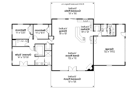 house plans with kitchen in front of house