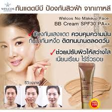 blemish balm welcos no makeup face bb cream spf 30 pa ขนาด 10ml หมดอาย ป