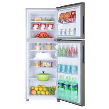 refrigerator 10 cu ft. haier e-star freezer-on-top refrigerator 10 cu ft (hrf-276ecs)