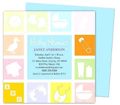 Free Microsoft Word Invitation Templates Amazing Baby Shower Invitations Template Blocks Invitation Templates Edit