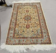 silk oriental throw rug 3 x 5 2 by nadeau s auction gallery bidsquare