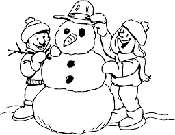 Small Picture Lofty Design Ideas Snowman Color Pages Snowman Coloring Pages To