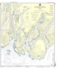 Southeast Alaska Chart Noaa Nautical Chart 17437 Portland Inlet To Nakat Bay