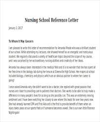 letter of recommendation template for nursing student letter of recommendation template nursing rome fontanacountryinn com