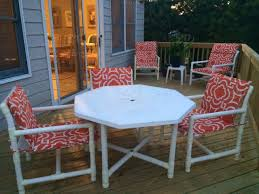 outdoor furniture orange deck