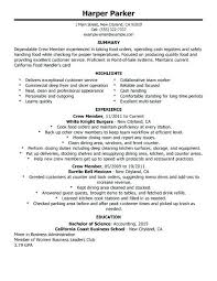 Food Service Manager Resume Awesome Resume Samples Fice Manager