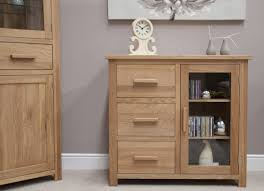 small sideboard cabinet sideboard buffet eton solid oak furniture small glazed glamorous small