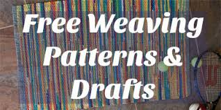 Weaving Loom Patterns Gorgeous Free Weaving Patterns And Drafts You'll Love Weaving Interweave