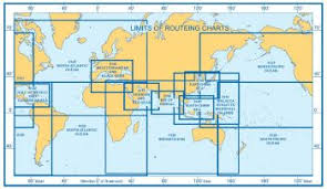 Admiralty 5142 Planning Chart Routeing Gullf Of Mexico And Caribbean Sea