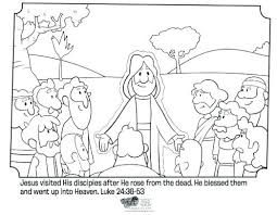Religious Easter Coloring Pages For Toddlers Printable Free Lds