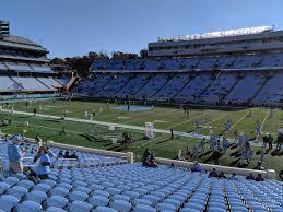 Keenan Stadium Seating Chart Kenan Memorial Stadium Section 109 Rateyourseats Com