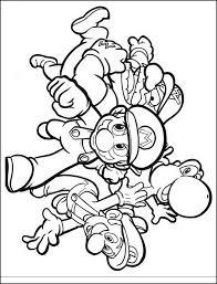 10 Disegni Da Colorare Mario Bros Business E Educazione Modello