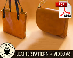 Free Leather Templates Leodis Leather Videos And Patterns