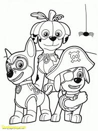 Paw Patrol Coloring Pages Everest Ausmalbilder Genial Sheets 895