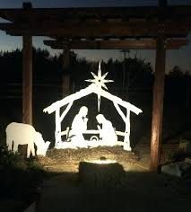 outdoor nativity sets hobby lobby a great nativity set for apartments small yards and decks standard