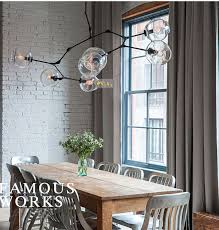 lindsey adelman globe branching bubble chandelier 110v 220v modern chandelier light lighting 7 head