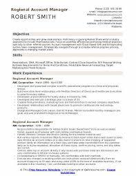 Regional Account Manager Resume Samples Qwikresume