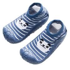 Amazon Com Anti Slip Floor Socks Boots Baby Socks With
