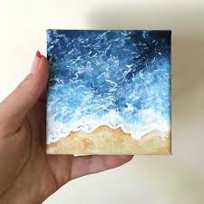 interesting acrylic painting on canvas wave painting acrylic painting small canvas painting by acrylic painting on interesting acrylic painting