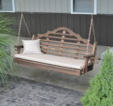 cedar wood porch swing 4 5 or 6