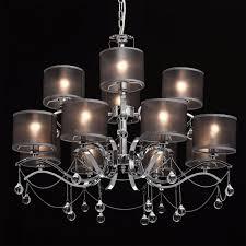 Opulenter Design Kronleuchter Mit Schirm Kristalle