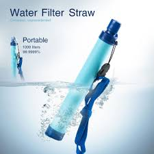 portable water filter. Contemporary Portable Portable Water Filter Filtration Straw Purifier Survival Gear Outdoor  Drinking To L