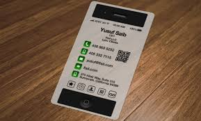Iphone Business Cards A Moment With Yusuf Of Fisil Llc