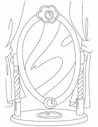 mirror coloring pages for kids. Mirror Coloring Pages For Kids C