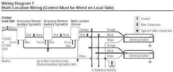 lutron spsf 6am 277 wh spacer system 277v 6a fluorescent 3 wire lutron spsf 6am wiring diagram