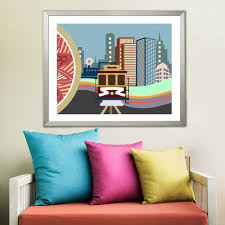 There is truly nothing they can't or won't do! San Francisco Wall Art Cable Car California