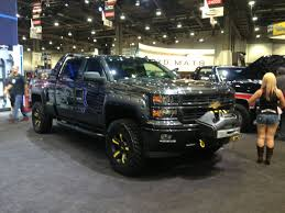 Truck chevy concept truck : Chevy Booth Trucks at the 2013 Sema Show Photo & Image Gallery