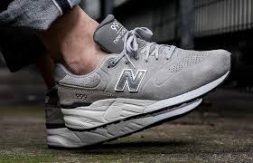 new balance 999. steel grey suede takes over the new balance 999