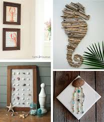 Small Picture Beach Crafts Coastal DIY Wall Art