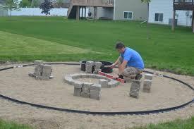 building a paver patio part 2 home
